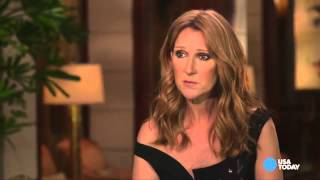 Celine Dion on her husband