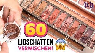 60 URBAN DECAY LIDSCHATTEN VERMISCHEN 😱! Du wirst nicht glauben was passiert! 🔥 Naked Heat Palette