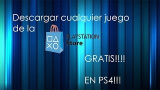 Trucos Para Descargar Juegos Gratis En Playstation Store