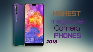 Top 5 Highest Megapixel Smartphones Camera To Buy 2018 | (40 MP Triple Camera)