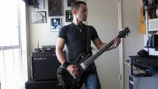 Stone Sour - Absolute Zero (guitar cover w/ solo)