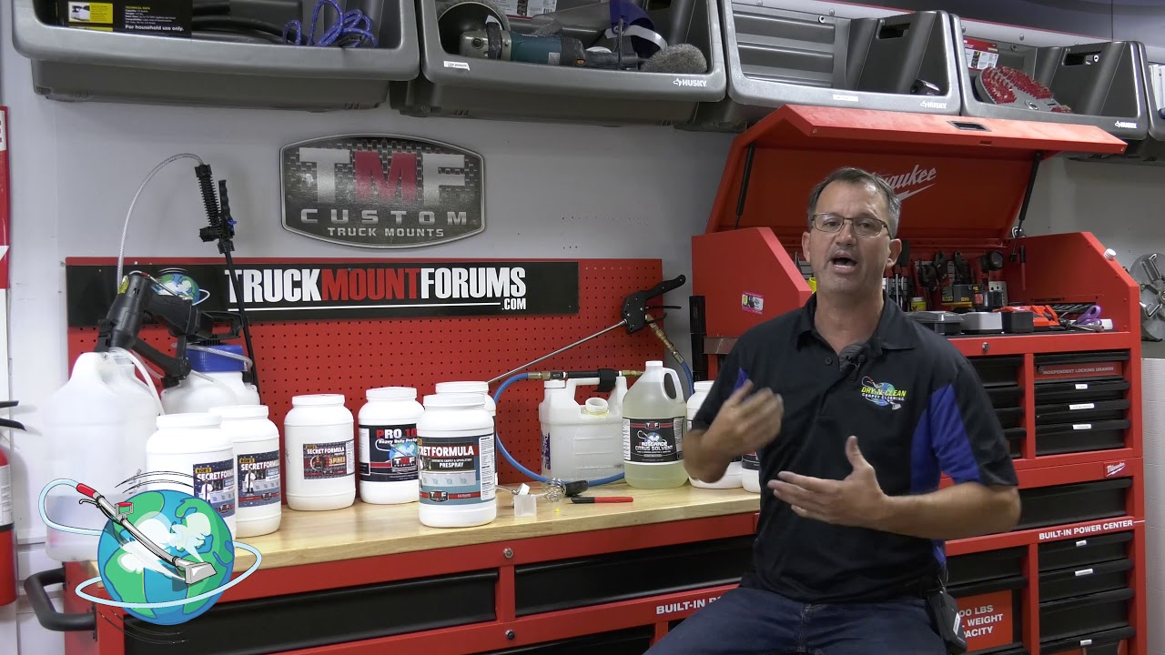 Rob S Secret Formula For Polyester Carpet Cleaning Youtube