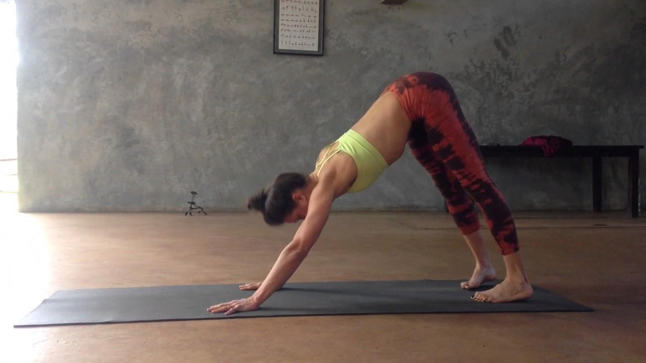 Ashtanga Intermediate Series by Oriane Yoga - YouTube
