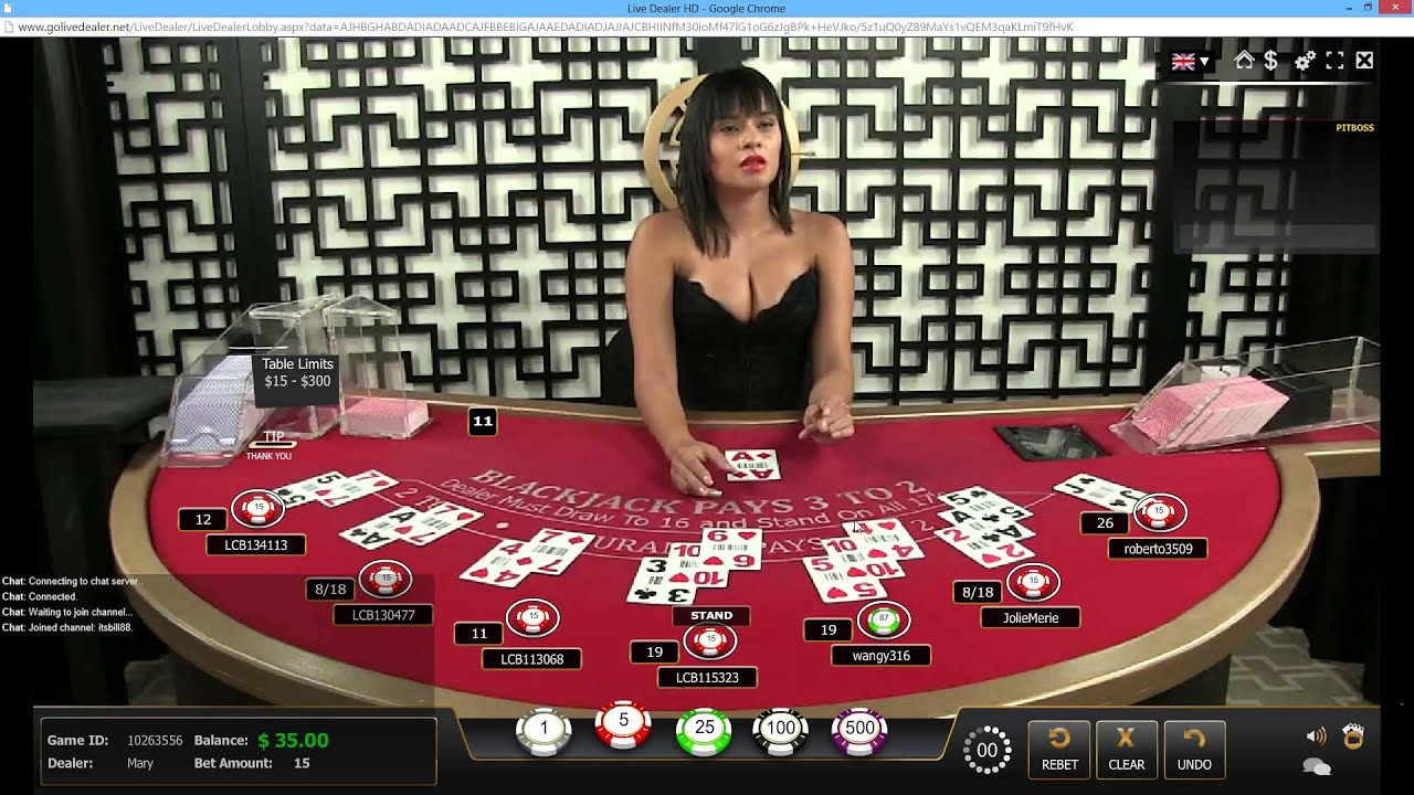 BlackJack - Live HOT Dealer - Real Money 50$ - # Attempt 2 ...