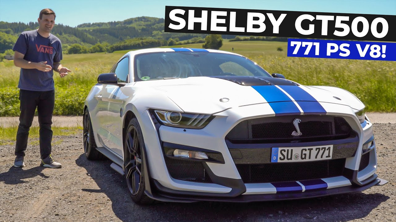 Ford Mustang Shelby GT500 (2020) Review / Fahrbericht - 771 PS und V8 Klangerlebnis pur!