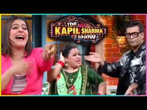 The Kapil Sharma Show: Karan Johar & Kajol Dance Performance | Bharti Singh COMEDY