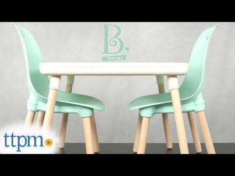 Kid Century Modern Table & Chair Set from Battat