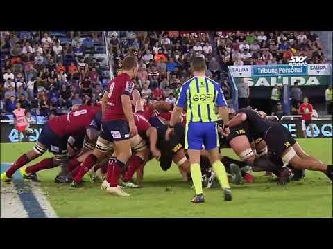 HIGHLIGHTS: 2018 Super Rugby Week #5 Jagures vs Reds