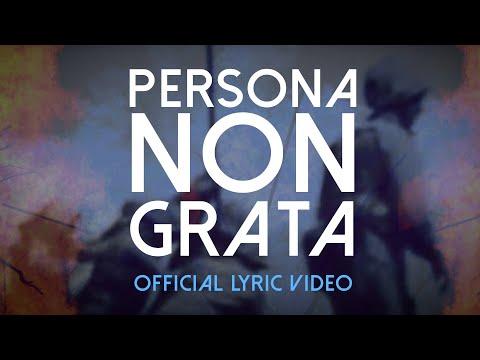 LEATHERJACKS   PERSONA NON GRATA (OFFICIAL LYRIC VIDEO)