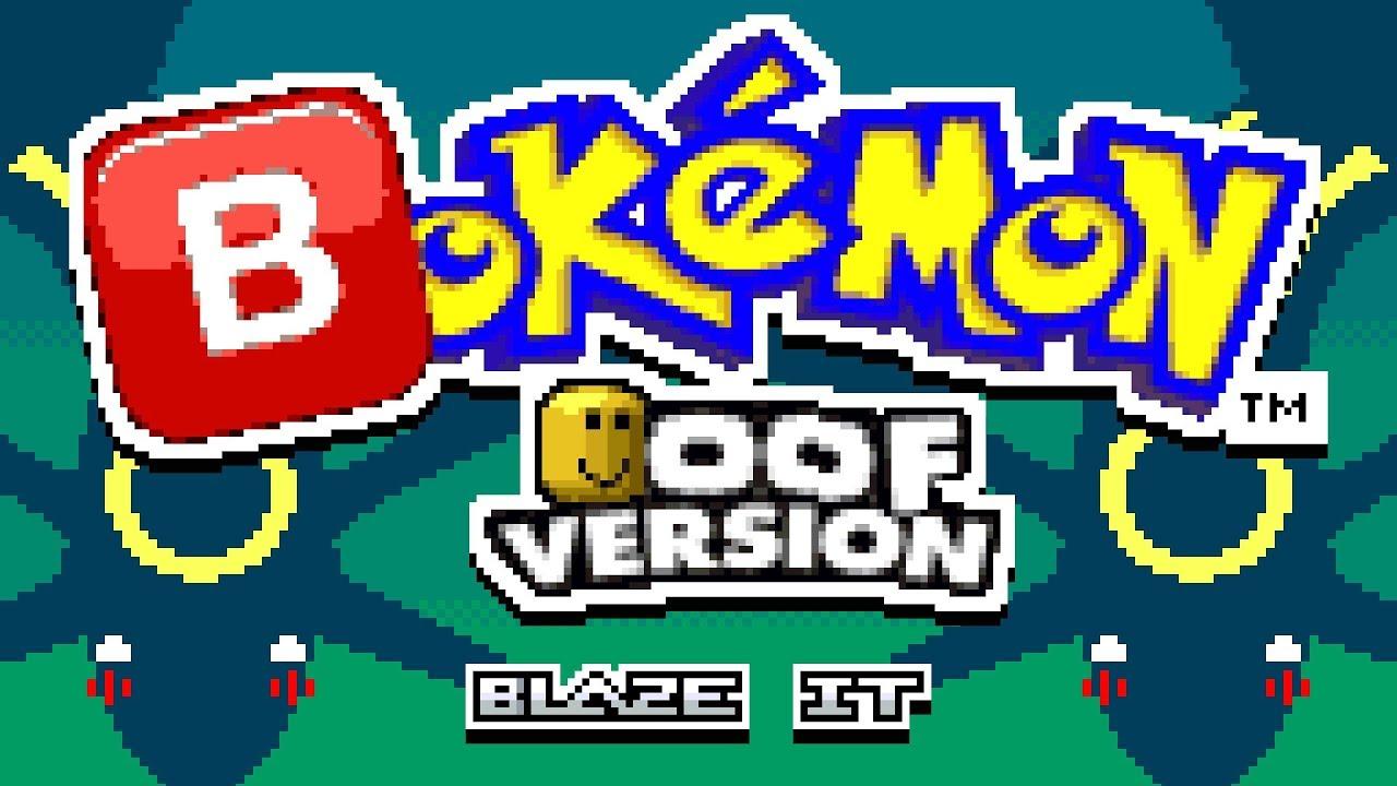 Pokemon Oof Version 2