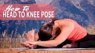 How To Head-to-Knee Forward Bend Pose or Janu Sirsasana with Adi Amar