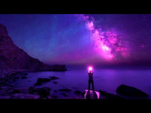 Healing Sleep Meditation ➤ 528Hz Love Frequency   Deep Sleeping Music