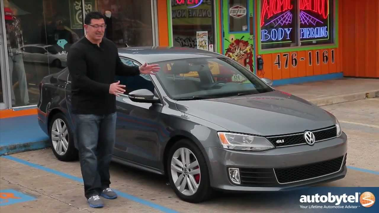 2012 volkswagen jetta gli test drive & car review - youtube
