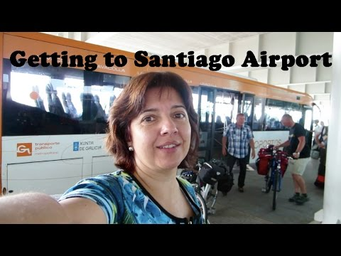 How to Get to Santiago de Compostela Airport from Galicia (Spain)