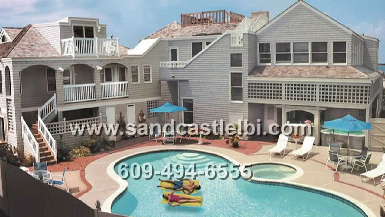 the sand castle bed breakfast long beach island youtube. Black Bedroom Furniture Sets. Home Design Ideas