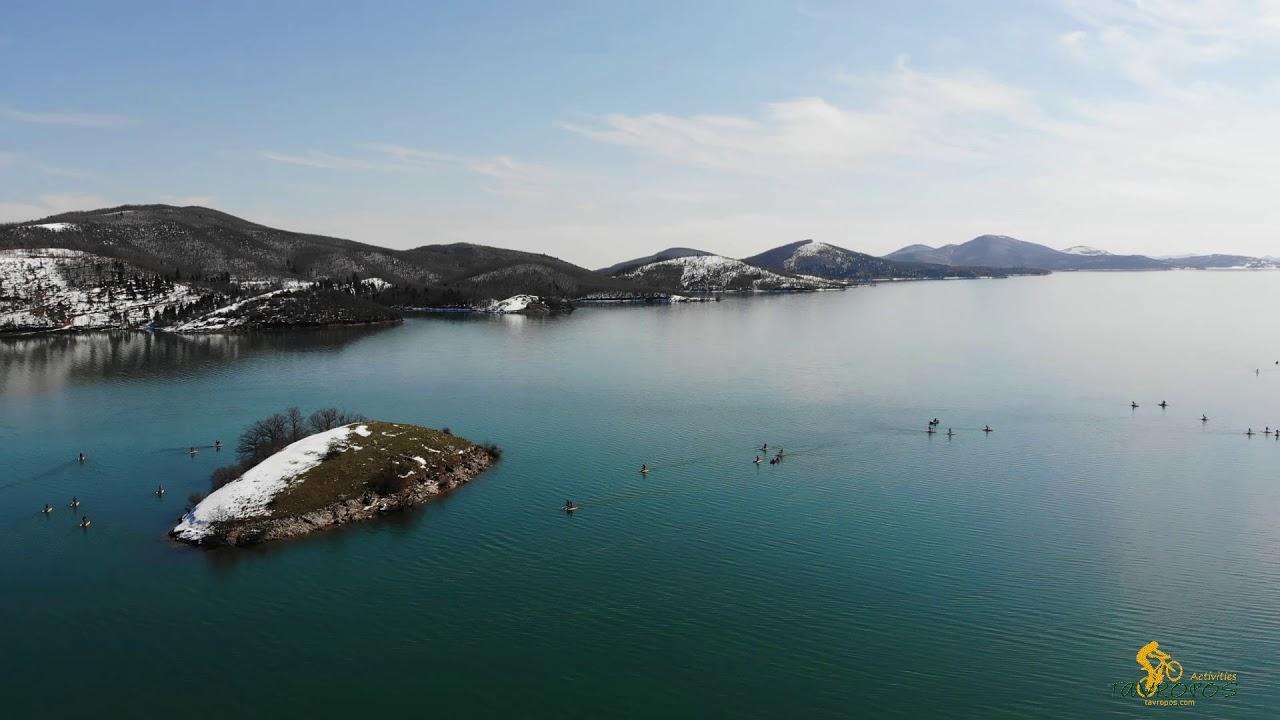 Υδροποδήλατα στη λίμνη Πλαστήρα- tavropos.com