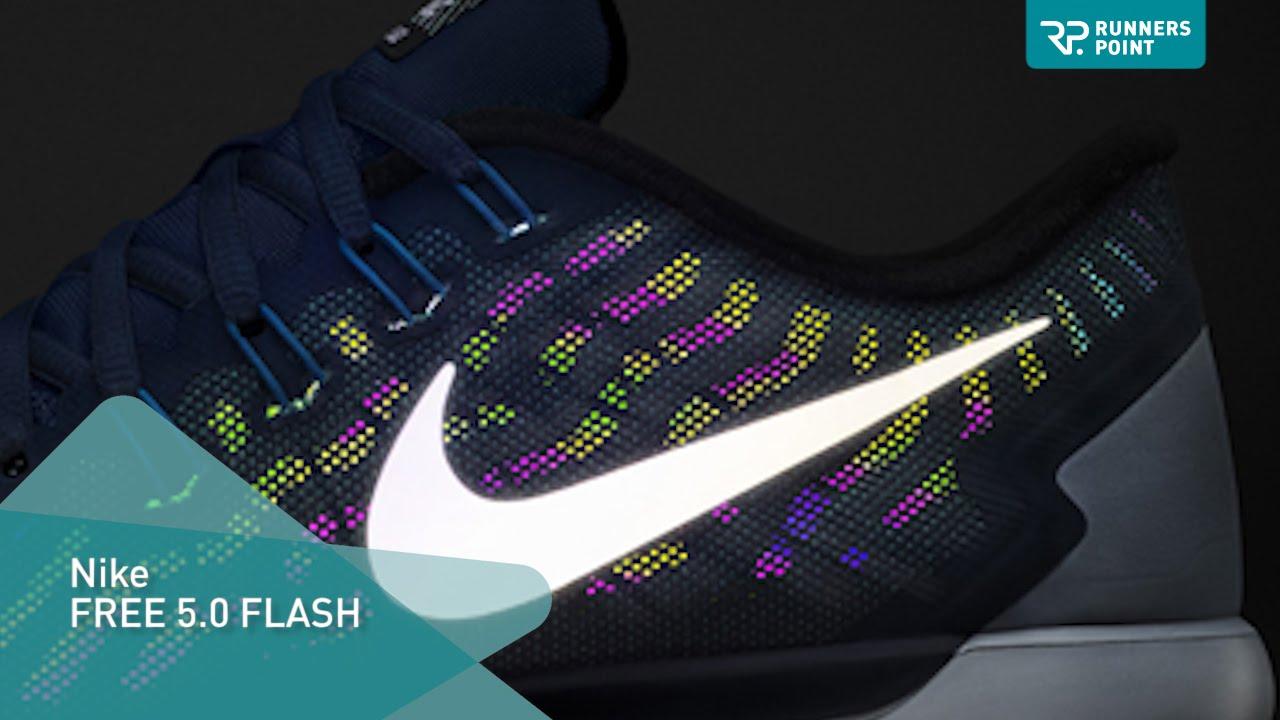 Experto camuflaje Adaptación  Nike FREE 5.0 FLASH - YouTube