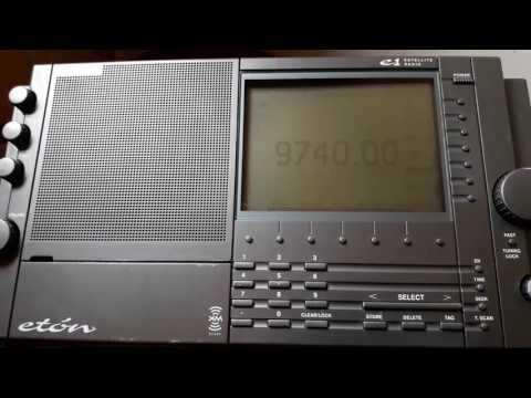 KBS World Radio (Corea del Sur) 9740 Khz Eton E1 desde Mendoza (ARG)