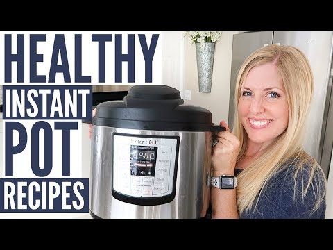 3 Healthy (and DELICIOUS) Instant Pot Recipes - Plus INSTANT POT GIVEAWAY!