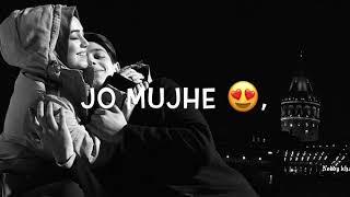 Tum Mere Ho Mere Rehna | Whatsapp status | New Love song WhatsApp status | By Noddy khan1430