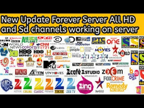 #ForeverServer125 Forever Server New Update All HD and Sd channels Ok