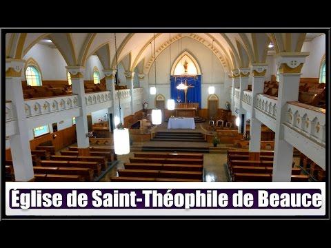 Église De Saint-Théophile(Hier @ Aujourd`hui)