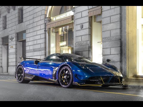 PAGANI HUAYRA BC OF THE SON OF INTER'S OWNER IN MILAN!!!