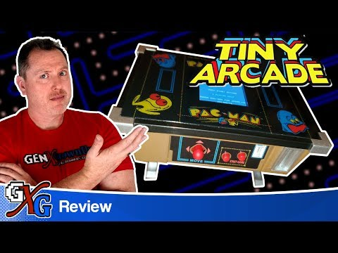PacMan Tiny Arcade Cocktail Review - Cracker Barrel Pac-Man EXCLUSIVE