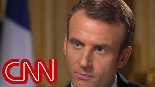 French President Macron: I always prefer having direct discussion