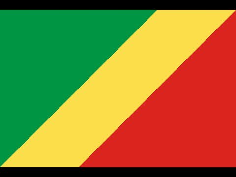 Флаг Республики Конго.