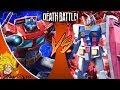 Optimus Prime VS Gundam (Transformers VS Gundam)   DEATH BATTLE! REACTION!!!