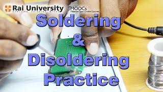 Soldering & Desoldering practice