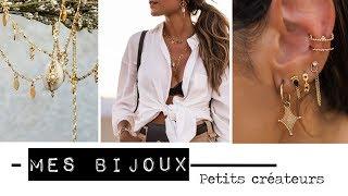 Mes bijoux - Créateurs français et internationnaux préférés