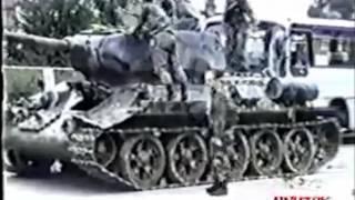 Последняя война танка Т-34 (видео боевого применения т-34 в 90-х)