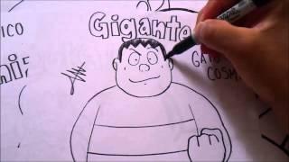 Mira y Animate a Dibujar a GIGANTE DE EL GATO COSMICO XDEIOS