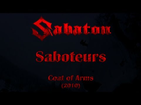 Sabaton - Saboteurs (Lyrics English & Deutsch)