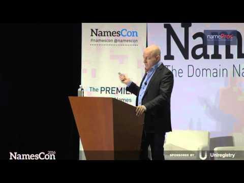 Escrow.com and Freelancer.com Keynote by Matt Barrie NamesCon 2016
