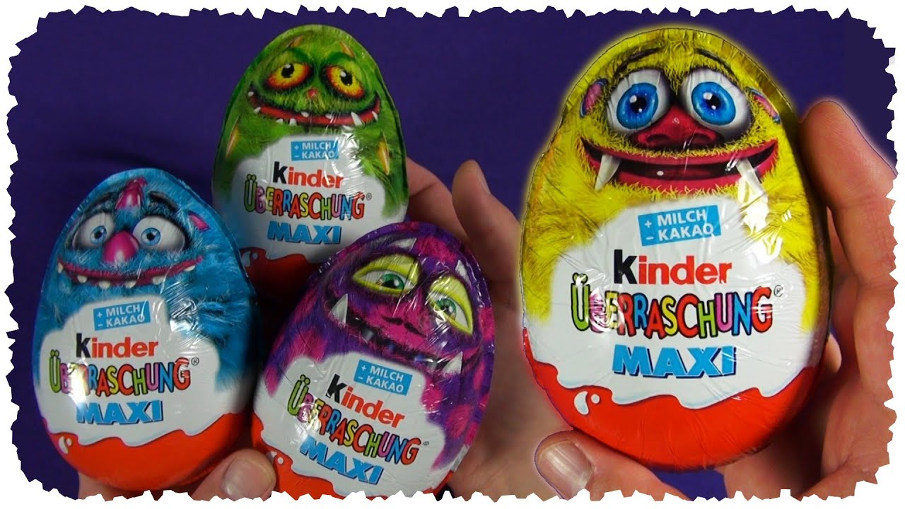 halloween 2014 kinder surprise maxi egg kinder berraschung youtube. Black Bedroom Furniture Sets. Home Design Ideas