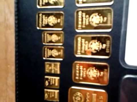 Gold bar collection
