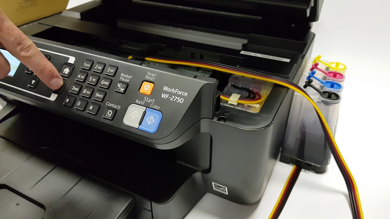 Chipless Epson Workforce Wf 2750 Printer From Ink Express
