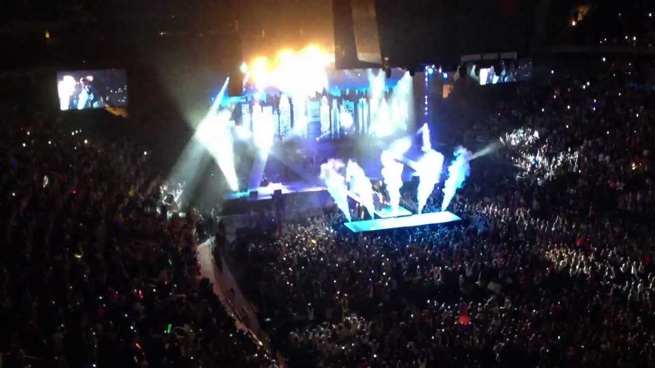 One Direction Opening At Madison Square Garden Epic Youtube