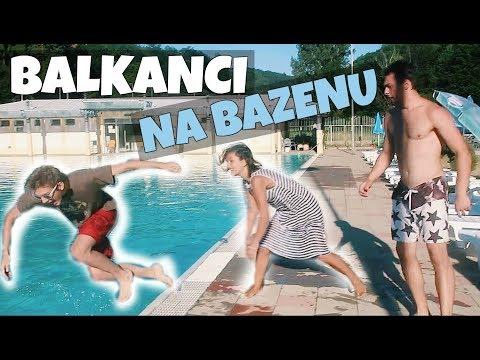 Ljudi Sa Balkana VS Ostali Ljudi Na BAZENU
