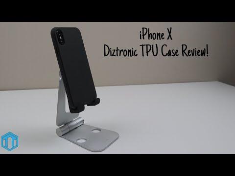 big sale be6a1 5e213 iPhone X Diztronic TPU Case Review! - YouTube