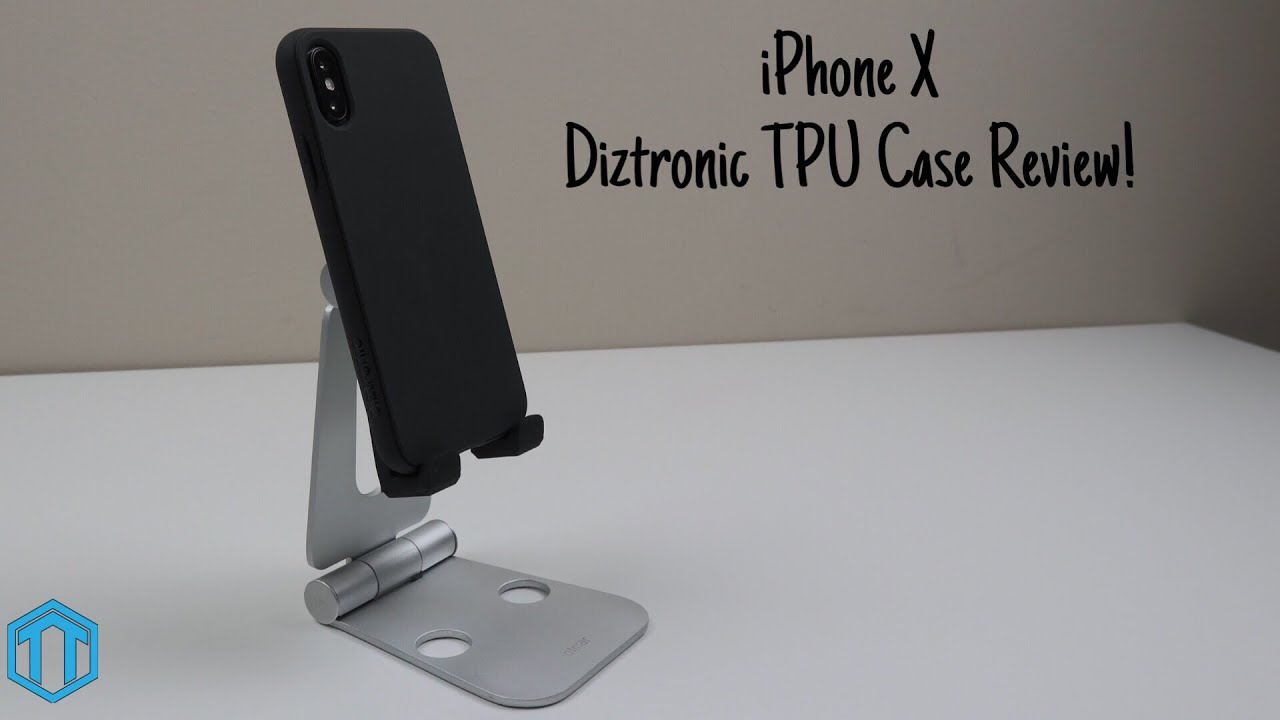 new concept 0316c 07662 iPhone X Diztronic TPU Case Review!