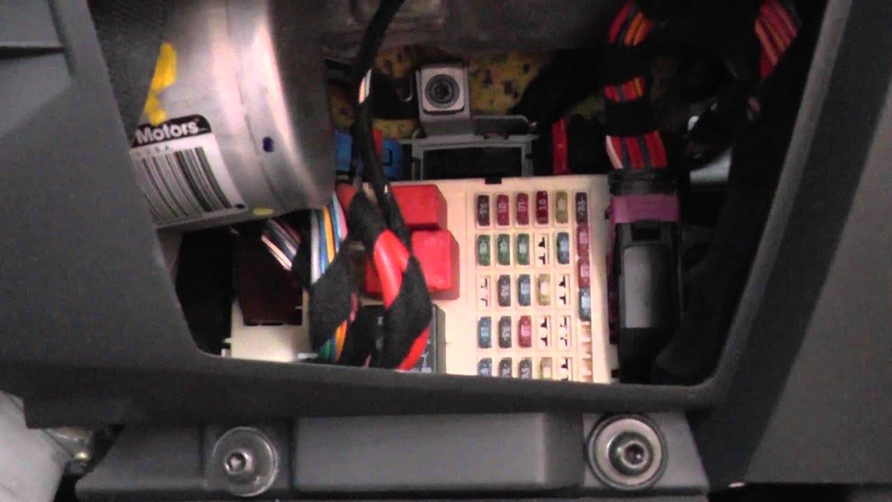 Fiat Stilo Fuse Box Location  YouTube