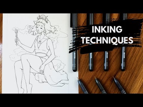 Lineart Tutorial | How To Draw Smooth Lines With Fineliners And Pens