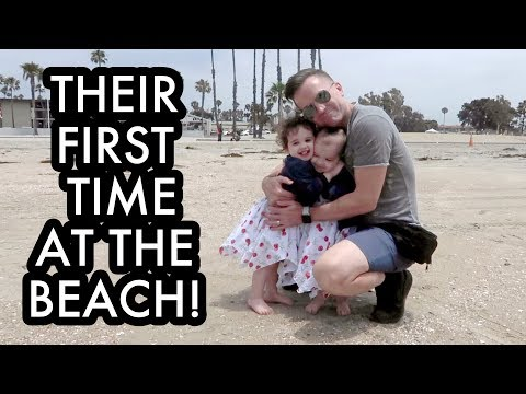Our Baby Girls' First Trip To The Beach! /// McHusbands