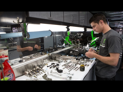 Bike Build With Monster Energy Kawasaki's Travis Parry | TransWorld Motocross