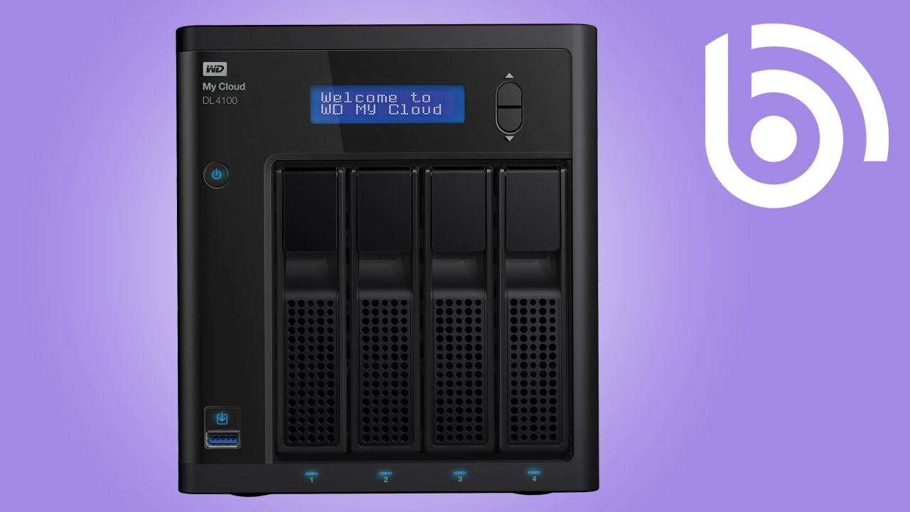 WD My Cloud DL4100 Network Attached NAS Storage Introduction