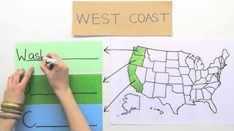 Die 50 Staaten der USA | Englisch | Landeskunde